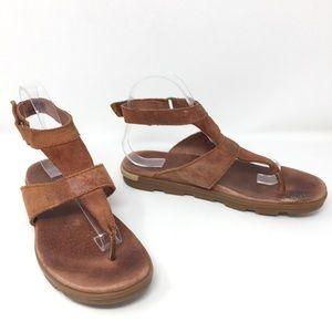 Sorel Torpeda Genuine Leather Thong Sandal 8.5